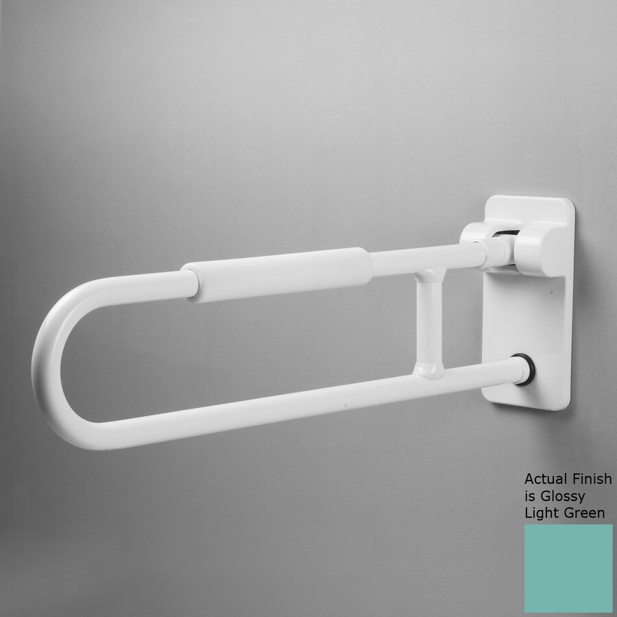 Ponte Giulio USA Glossy Light Green Wall Mount Grab Bar