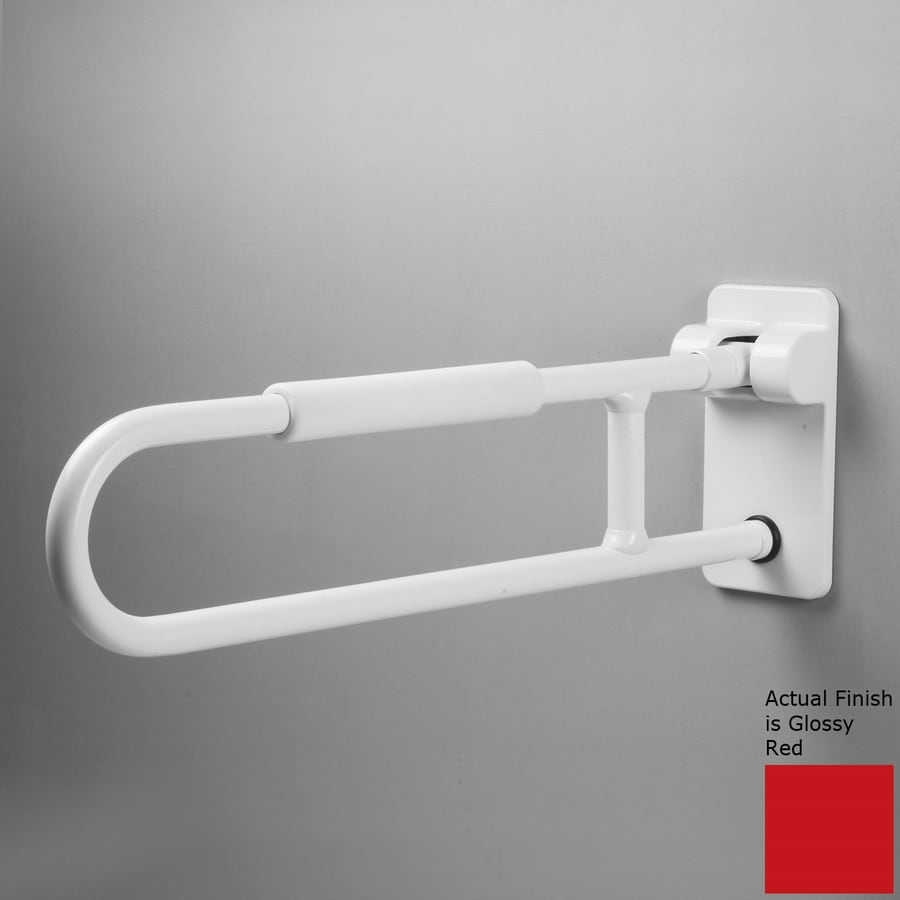 Ponte Giulio USA Glossy Red Wall Mount Grab Bar