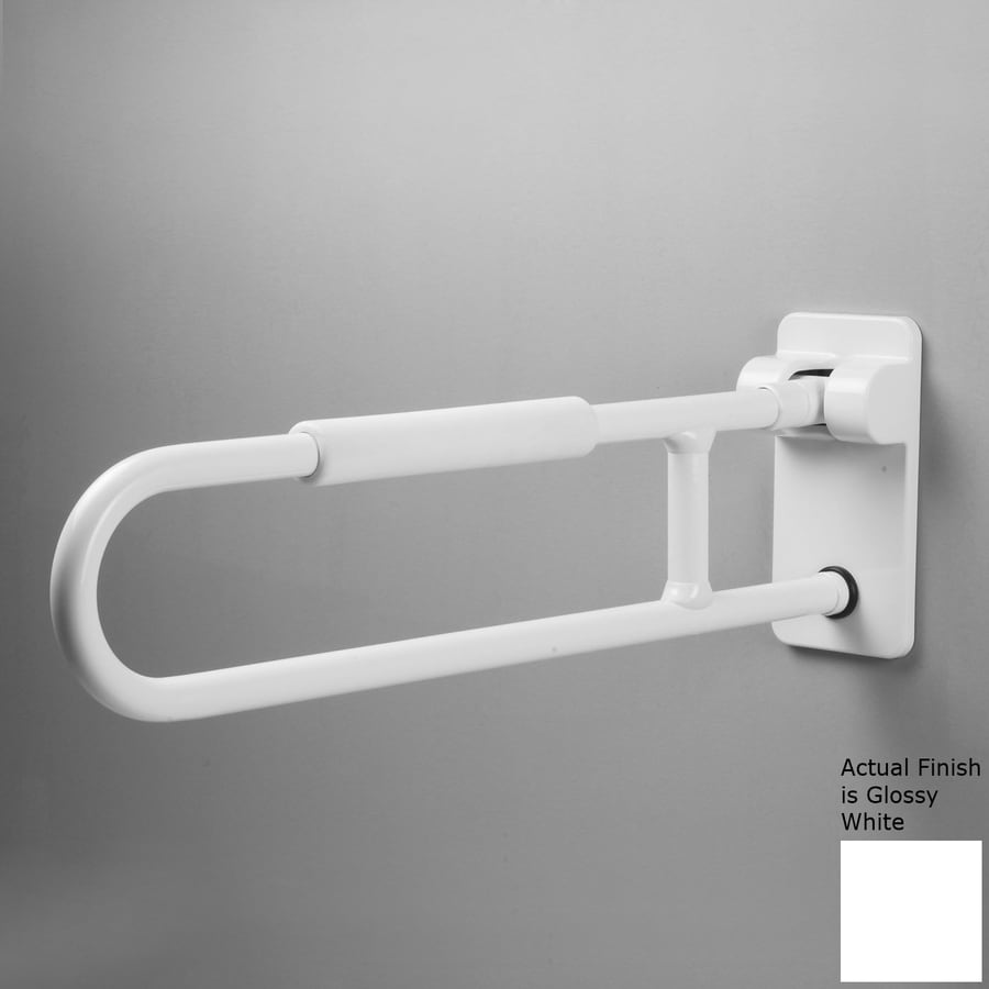 Ponte Giulio USA Glossy White Wall Mount Grab Bar