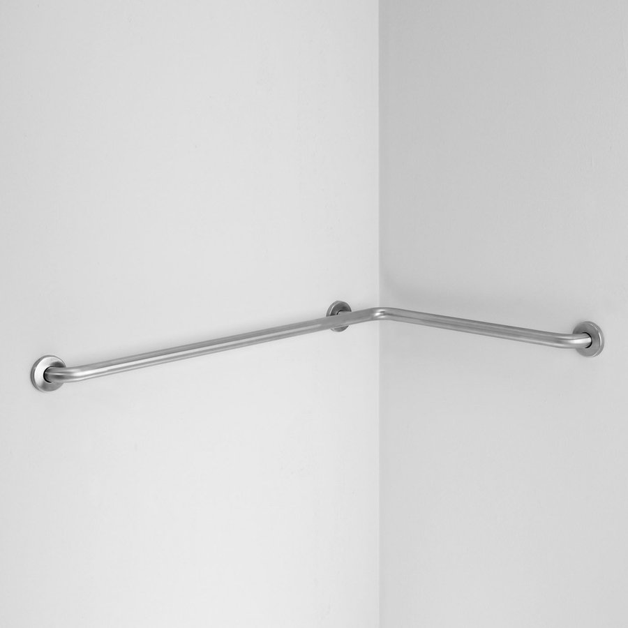 Ponte Giulio Usa Satin Steel Wall Mount Grab Bar At Lowes Com