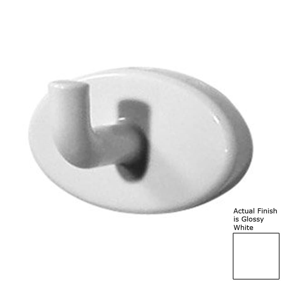 Ponte Giulio USA Glossy White Towel Hook