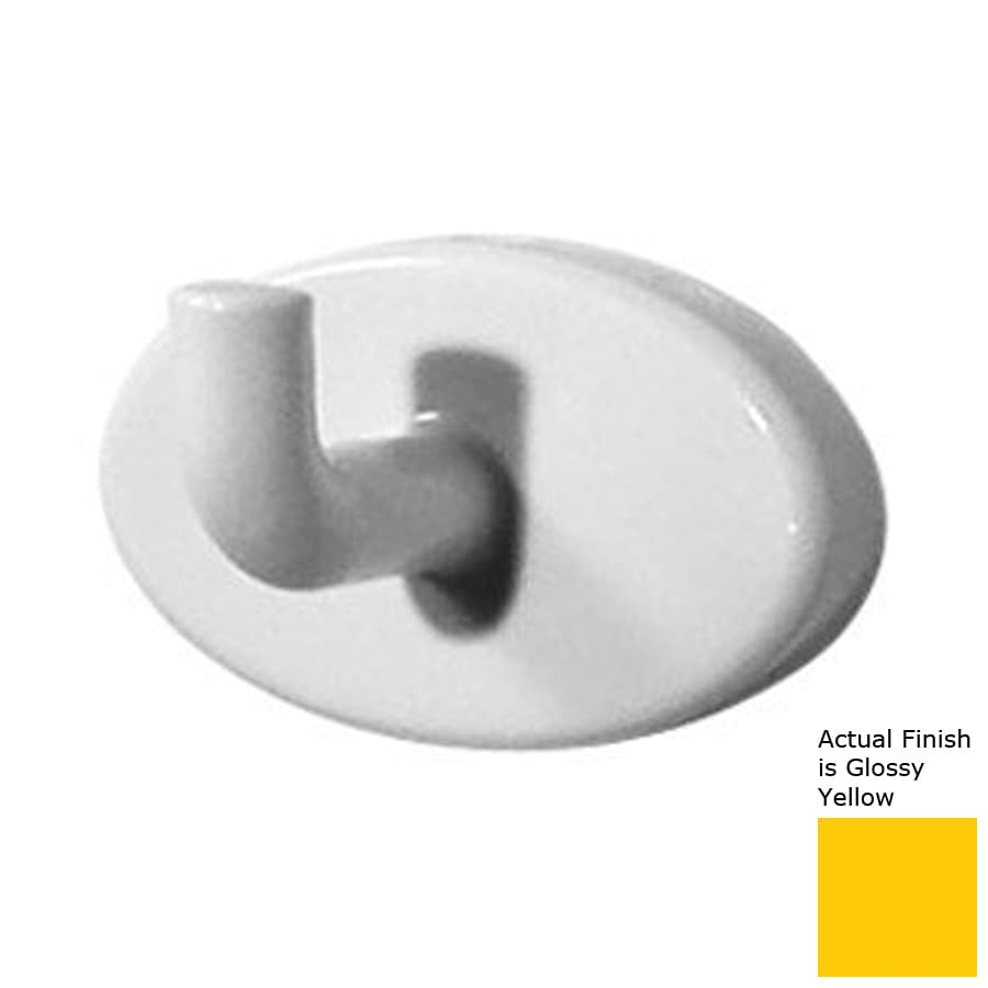 Ponte Giulio USA Glossy Yellow Robe Hook
