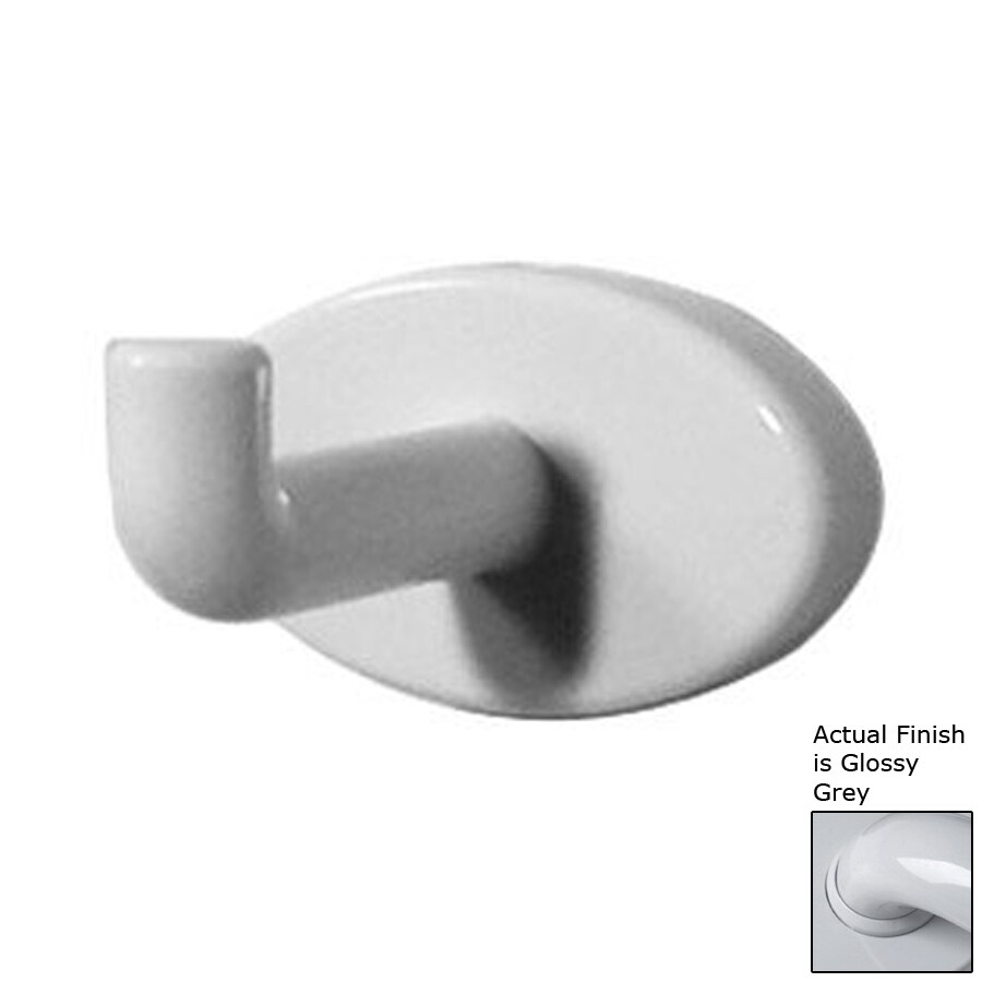 Ponte Giulio USA Glossy Grey Robe Hook