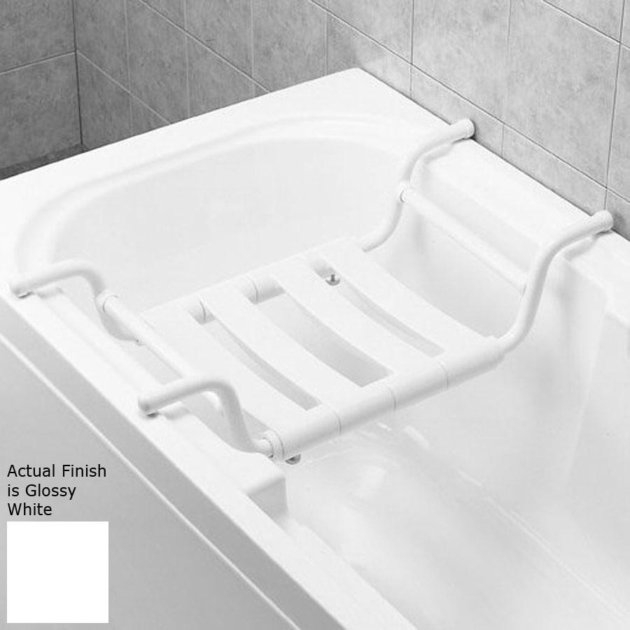 Ponte Giulio USA Glossy White Plastic Hanging Shower Seat