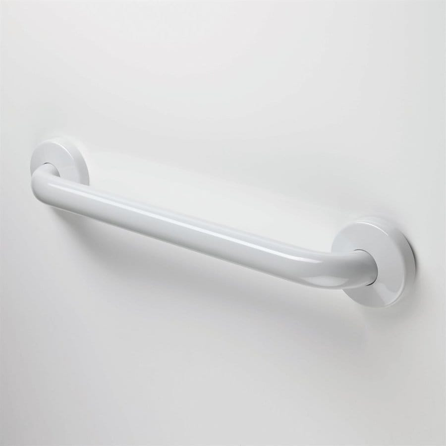 Ponte Giulio USA 12-in Glossy Grey Wall Mount Grab Bar