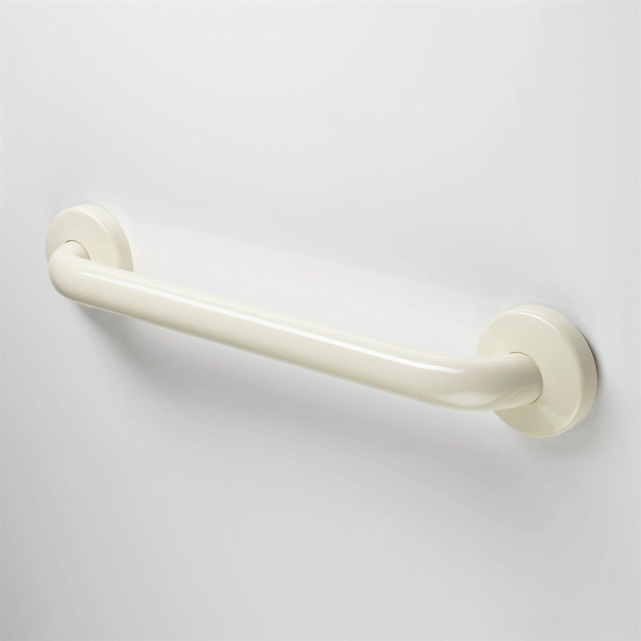Ponte Giulio USA 12-in Glossy Ivory Wall Mount Grab Bar