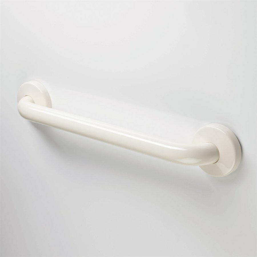Ponte Giulio USA Maxima 12-in Glossy Biscuit Wall Mount Grab Bar