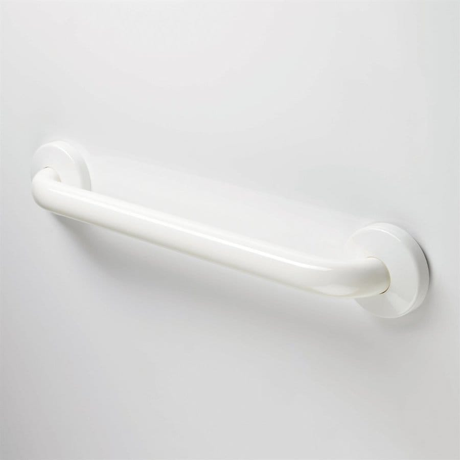 Ponte Giulio USA Maxima 16-in Glossy White Wall Mount Grab Bar