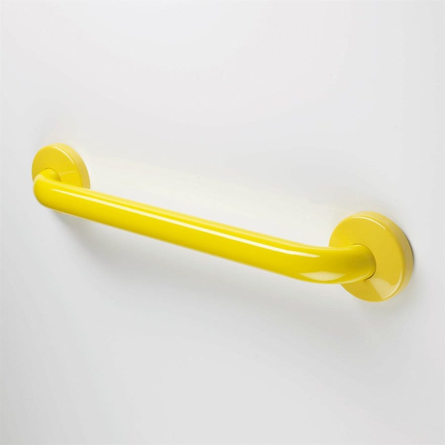 Ponte Giulio USA 18-in Glossy Yellow Wall Mount Grab Bar