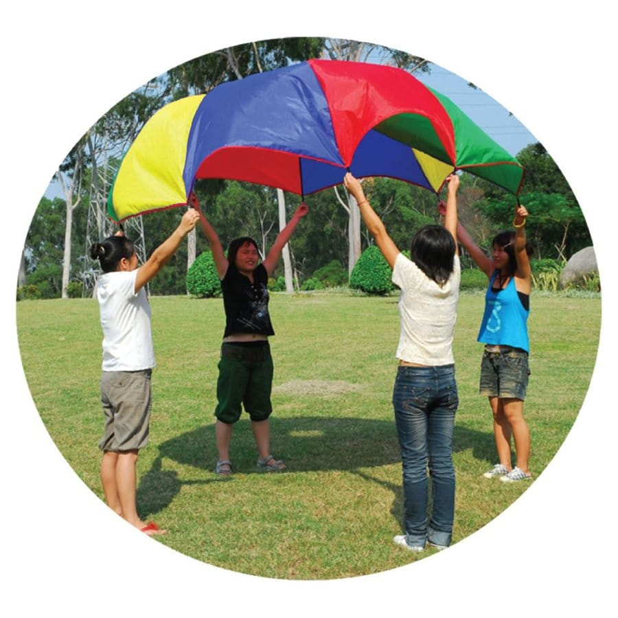 Gigatent 10-Ft Multi-Use Play Parachute