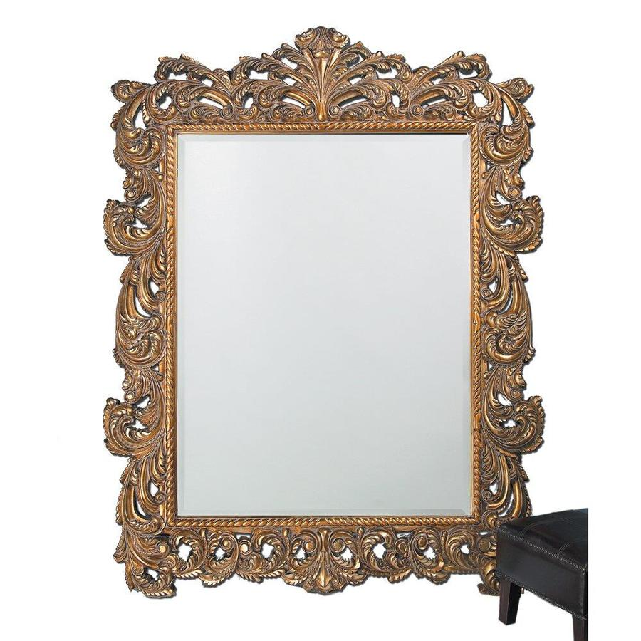 Tyler Dillon Napoleon Gold Beveled Wall Mirror