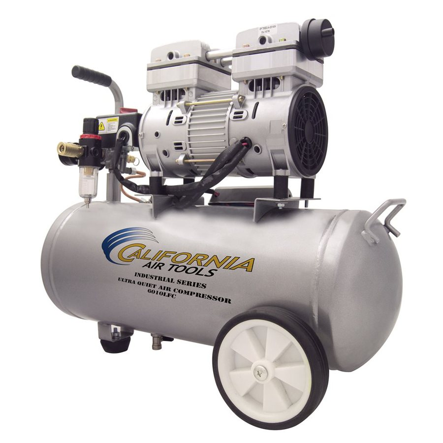 California Air Tools 6-Gallon Portable Electric Horizontal Air Compressor