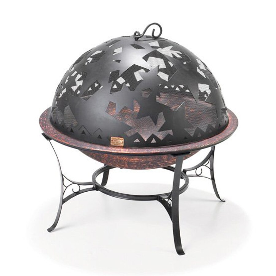 Good Directions 25.5-in W Black Steel Wood-Burning Fire Pit