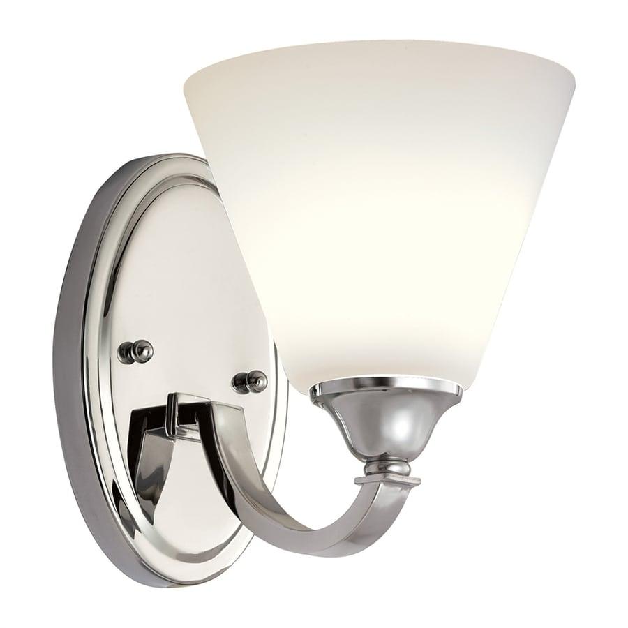 Shop quoizel 1 light polished chrome bathroom vanity light - Polished chrome bathroom lighting ...