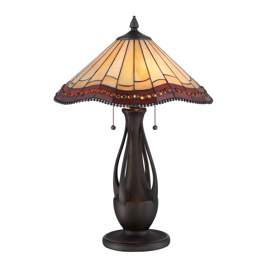 Table Lamps At Lowes: Quoizel 22.88-in Antique Bronze Indoor Table Lamp With