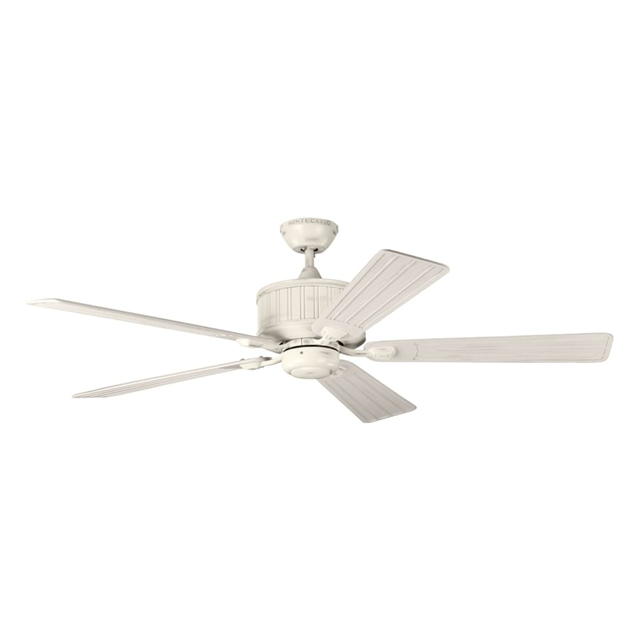 Monte Carlo Fan Company Tillbury 54 In Chalk Washed Indoor Outdoor Hunter Parts Department Ceiling And