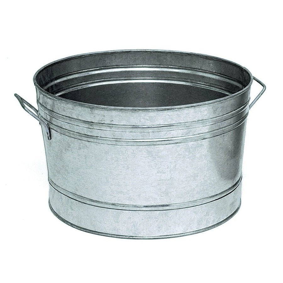 Marvelous ACHLA Designs Galvanized Steel Tub