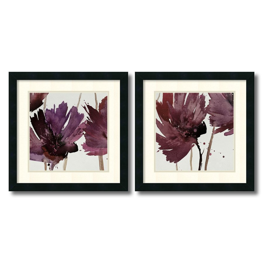 Amanti Art 2-Piece 18-in W x 18-in H Framed Paper Room for More Print Wall Art