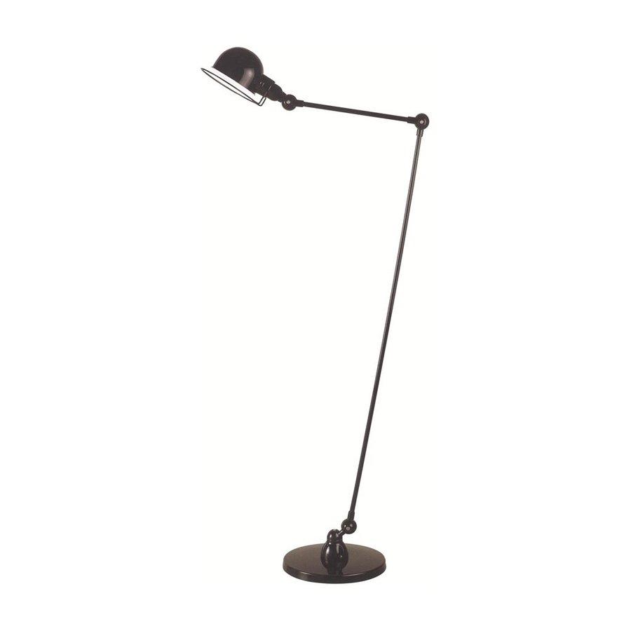 Elegant Lighting Vintage Task 53-in Black Downbridge Indoor Floor Lamp