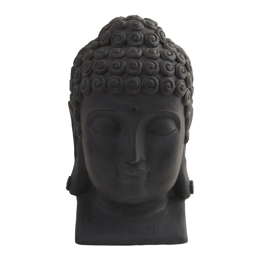 Nearly Natural 15.5-in Buddha Head Statue