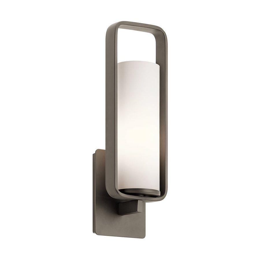 Kichler Lighting City Loft 5.5-in W 1-Light Olde Bronze Arm Wall Sconce
