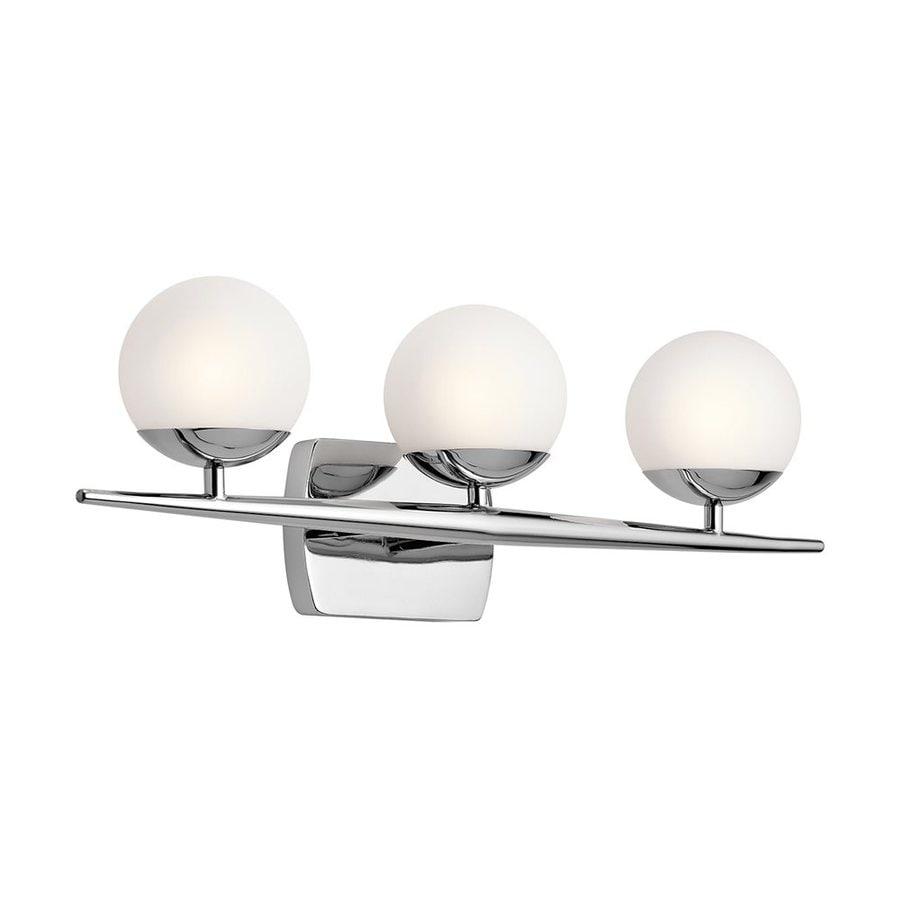 Kichler Lighting Jasper 3-Light Chrome Orb Vanity Light