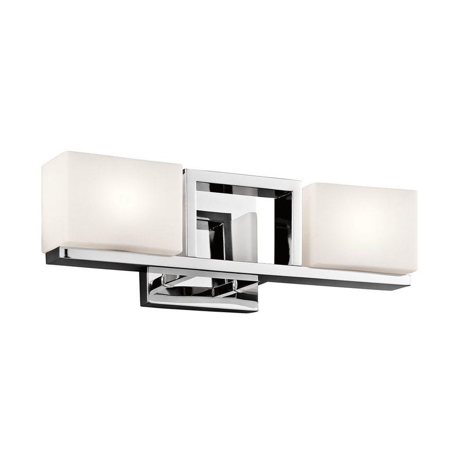 Kichler Lighting Keo 2-Light Chrome Rectangle Vanity Light