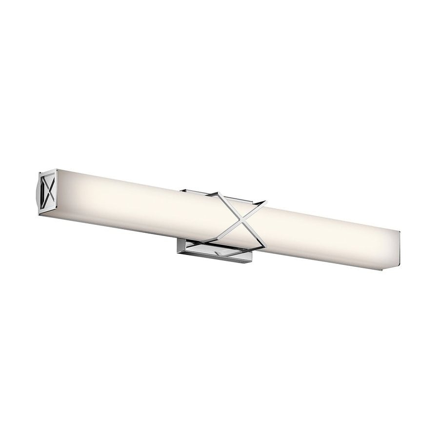 Kichler Lighting Trinsic 1-Light Chrome Rectangle Vanity Light Bar