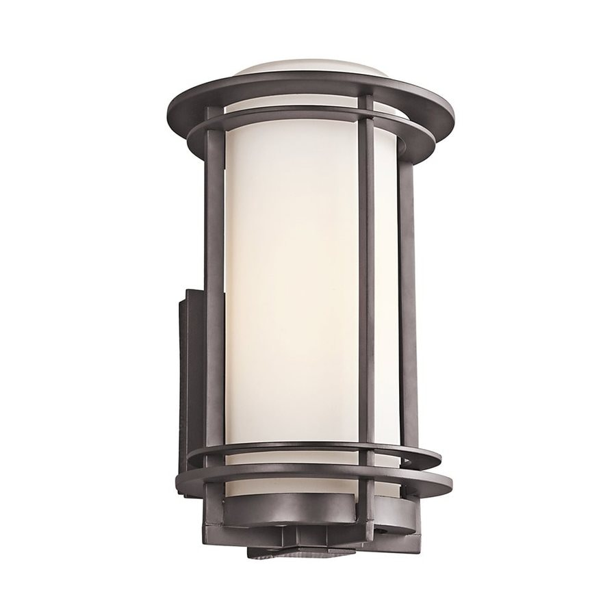 Kichler Pacific Edge 13.25-in H Architectural Bronze Outdoor Wall Light