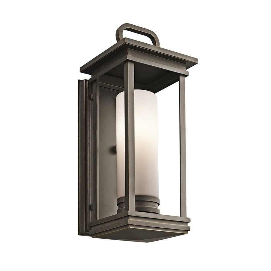 Kichler Lighting South Hope 17.75-in H Rubbed Bronze Outdoor Wall Light