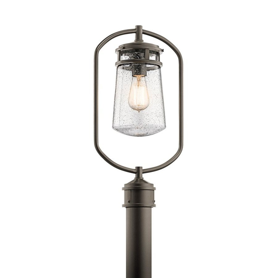 Kichler Lyndon 20-in H Architectural Bronze Post Light