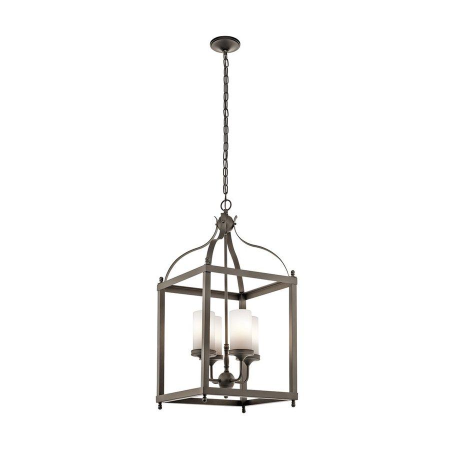 Kichler Larkin 36.75-in Olde Bronze Outdoor Pendant Light