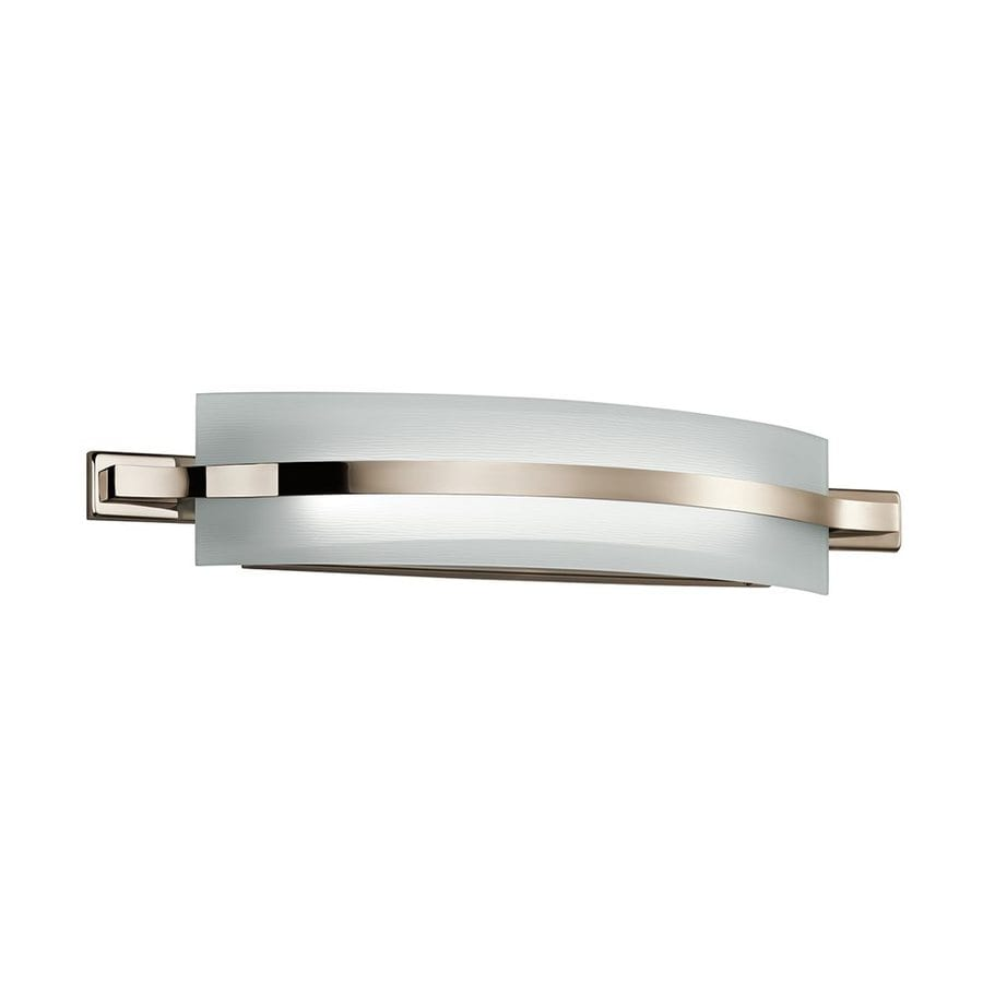 Vanity Light Bar Height : Shop Kichler Lighting Freeport 1-Light 5-in Polished Nickel Rectangle LED Vanity Light Bar at ...
