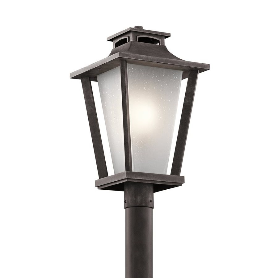 Kichler Lighting Sumner Court 21-in H Weathered Zinc Post Light