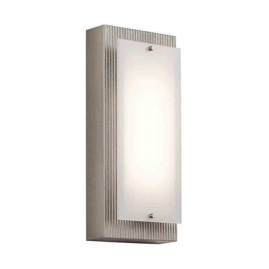 Kichler Vego 5-in W 1-Light Brushed Nickel Pocket Hardwired LED Wall Sconce