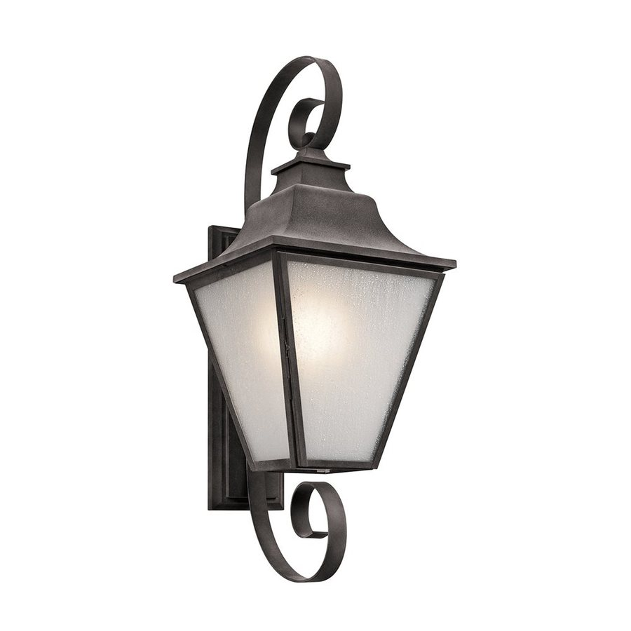 Kichler Lighting Northview 31.75-in H Weathered Zinc Outdoor Wall Light