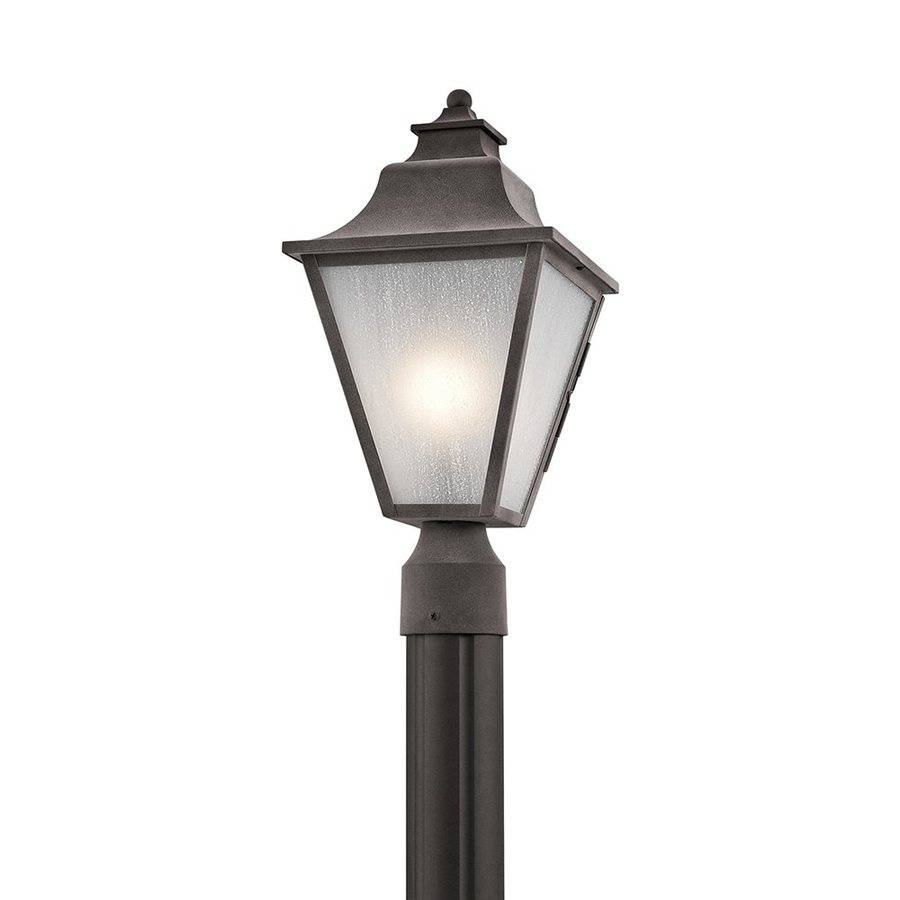 Kichler Lighting Northview 17.5-in H Weathered Zinc Post Light