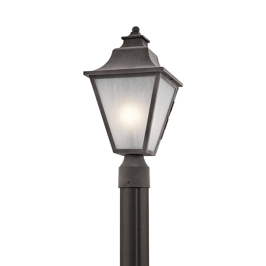 Kichler Northview 17.5-in H Weathered Zinc Post Light