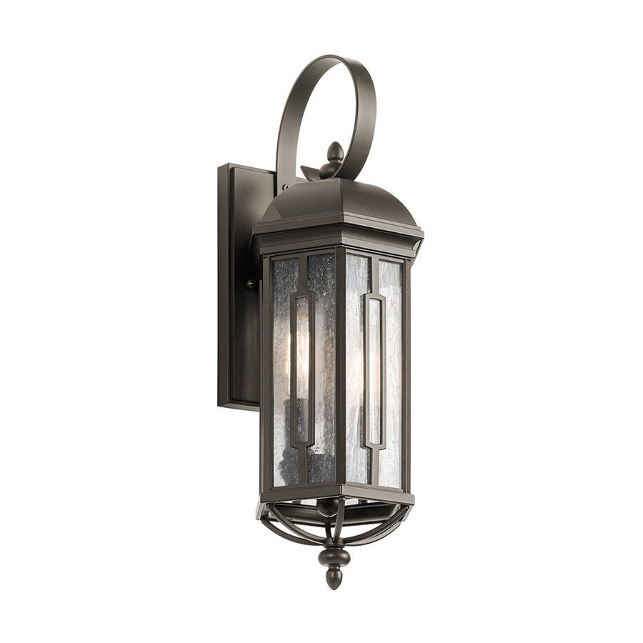 Kichler Galemore 18-in H Olde Bronze Outdoor Wall Light