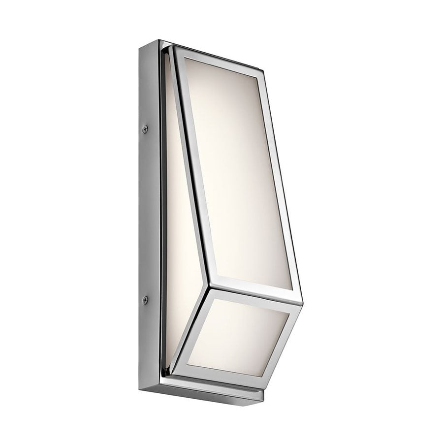Kichler Savoca 5-in W 1-Light Chrome Pocket LED Wall Sconce