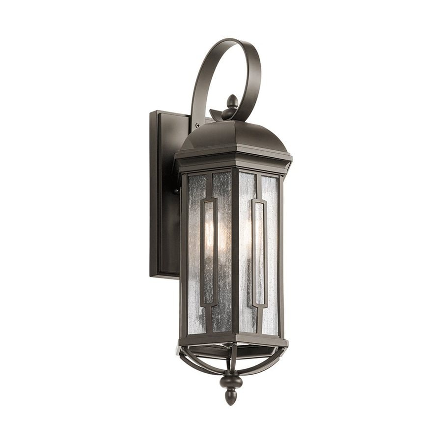 Kichler Lighting Galemore 21.75-in H Olde Bronze Outdoor Wall Light