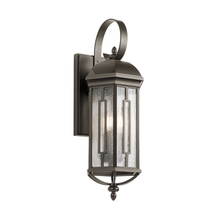 Shop Kichler Galemore 26.5-in H Olde Bronze Outdoor Wall Light at Lowes.com