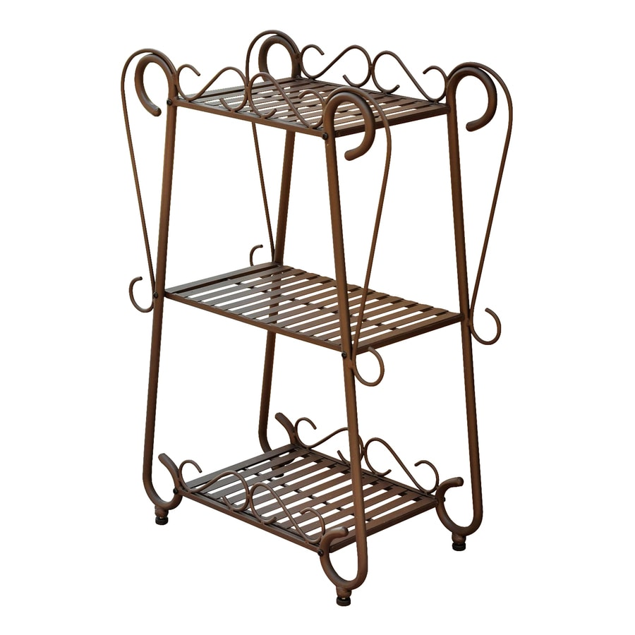 wrought iron plant stands shop international caravan santa fe 31 in outdoor 11028