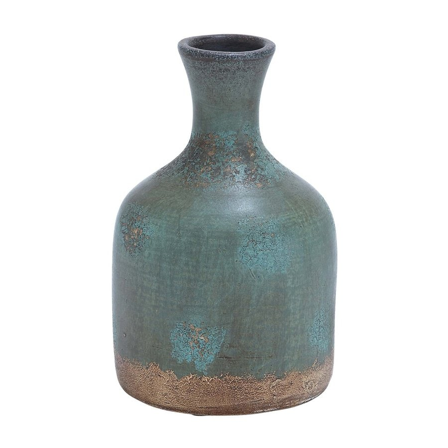 Woodland Imports Terracotta Bottle Vase