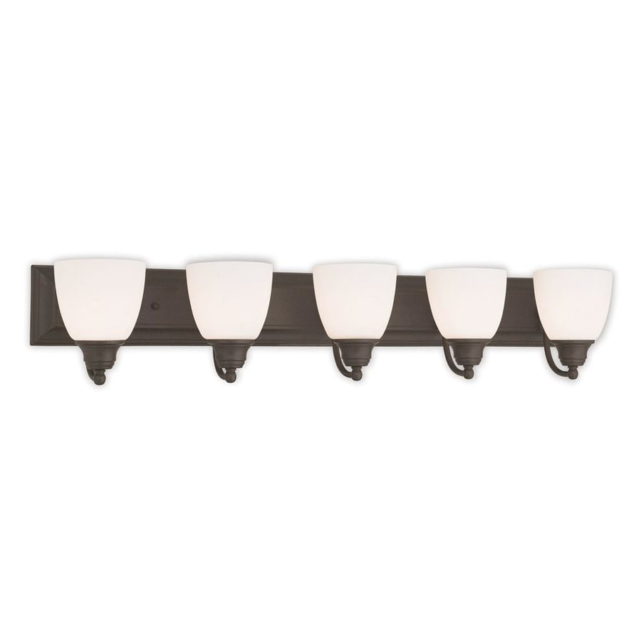 Livex Lighting Springfield 5-Light Bronze Bell Vanity Light