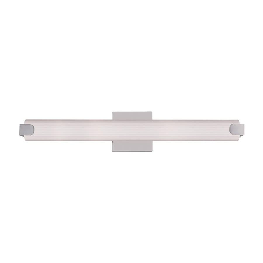 Livex Lighting Avelar 1-Light Chrome Cylinder LED Vanity Light