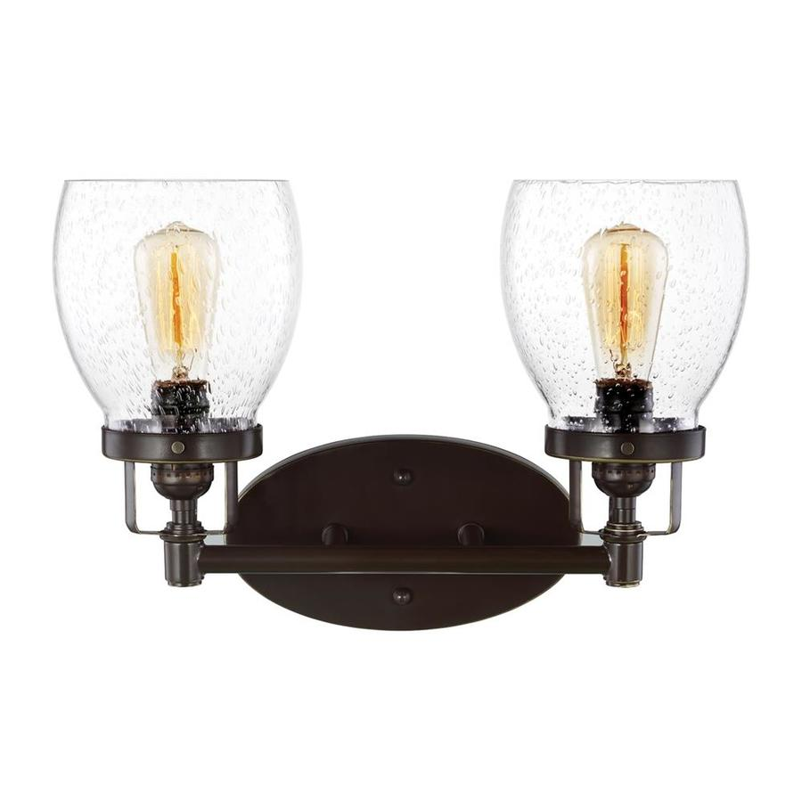 Sea Gull Lights: Sea Gull Lighting Belton 2-Light 15-in Heirloom Bronze