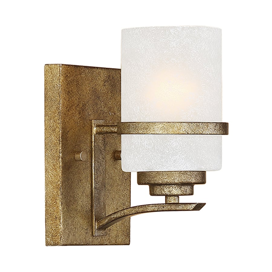 Millennium Lighting Benton 1-Light Vintage Gold Vanity Light