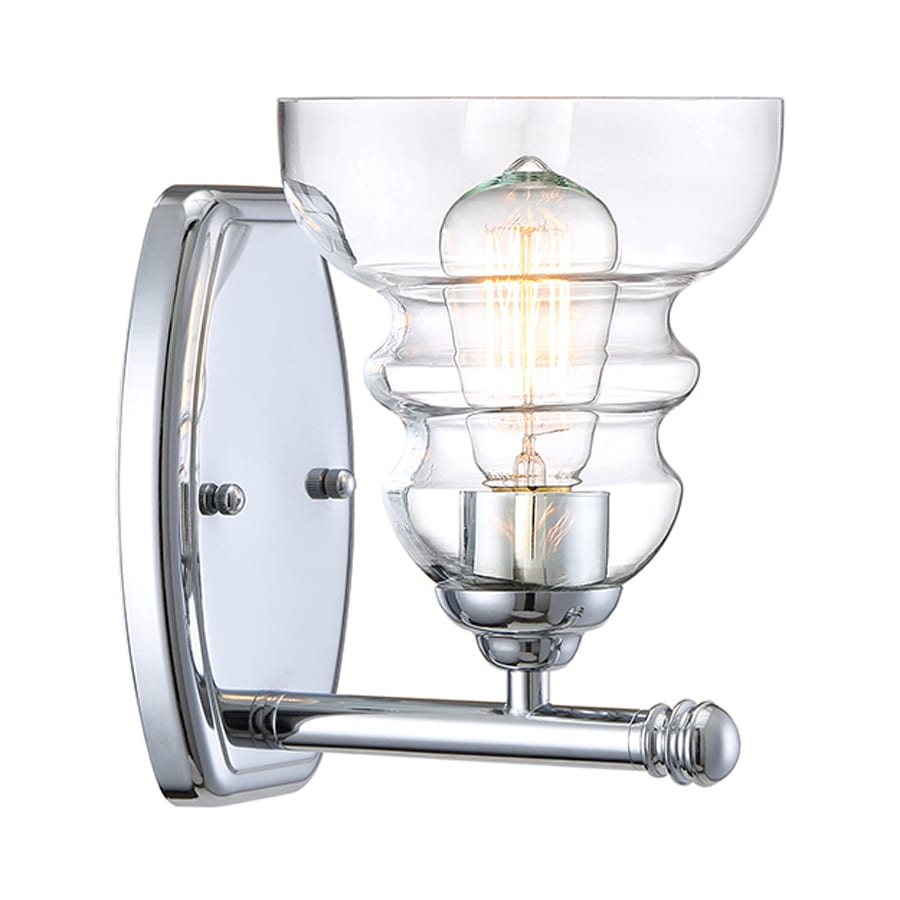 Shop Millennium Lighting 1 Light 6 In Chrome Vanity Light At