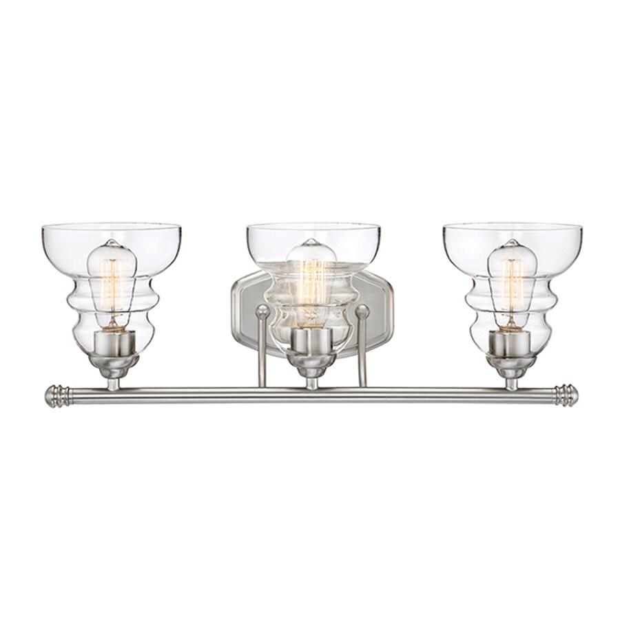 Millennium Lighting 3-Light Satin Nickel Vanity Light